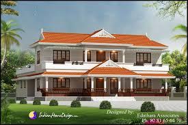 Small Picture Kerala style 2288 Sqft villa design traditional Double Floor
