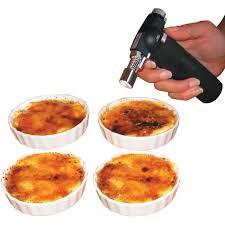 Service crème brûlée