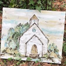 Pin by Myra Duncan Bray on Churches | Painting, Art painting, Art