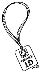 Teacher Id Badge Clip Art Clipart Panda Free Clipart Images