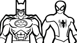 Free Superhero Coloring Pages For Kids A Preschoolers Artigianelli