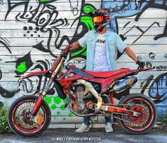 nice honda supermoto crf450 by slota10 motokreed
