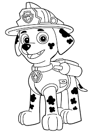 Aw Patrol Kleurplaat Marshall 2 Coloring Pages For The Kids Paw