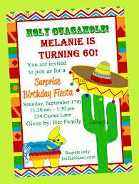 mexican birthday invitation wording fiesta party invitation printable birthday by