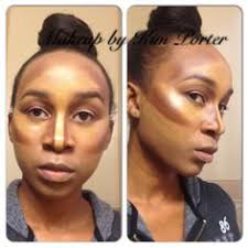 highlight contour makeup for darker skin good article on contouring in general including what makeup and shades you need