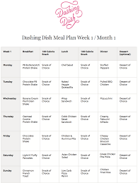 Meal Plans Meal Plans Dashing Dish 1