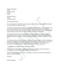 Employment Separation Letter Employment Separation Agreement Sample ...