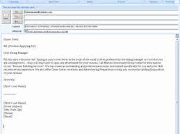 Body Of Email For Sending Resume Resume Work Template