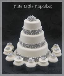 Silver Balls For Cake Decorating Beauteous Silver Ball Trimmed Wedding Cake Cake By Heidi Stone CakesDecor