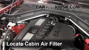 2008 2014 bmw x6 interior fuse check 2010 bmw x6 xdrive35i 3 0l cabin filter replacement bmw x6 2008 2014