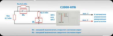 Обновленный контрольно пусковой блок С КПБ в проектах  Рисунок 4 Управление воротами с помощью С2000 КПБ