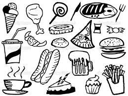 Small Picture Printable 34 Junk Food Coloring Pages 10106 Coloring Food Pages