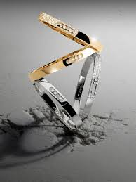 <b>Diamond Bracelet</b> and Thin <b>Bracelet</b> - Messika Luxury <b>Bracelets</b>