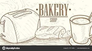 Vintage Bakery Illustration Stock Vector Jokalar01 137114654