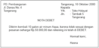 memo kredit akuntansi bukti bukti transaksi