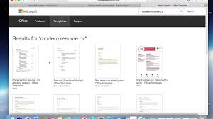 Modern Resume Template Google Docs Upload A Resume Template To Google Docs