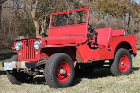 1948 Willys Overland CJ2A Civilian Jeep for sale