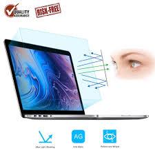 Blue Light Blocker For Macbook Pro Forito 2 Pack Compatible Macbook Pro 15 Inch Screen Protector Blue Light Filter Eye Protection Blue Light Blocking Anti Glare Screen Protector For