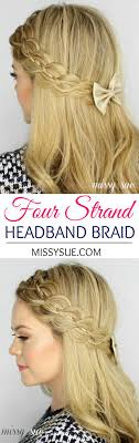 Plaiting Hair Style 25 best braid headband tutorial ideas braided 3132 by wearticles.com