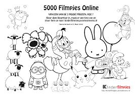 Kleurplaat 5000 Filmpjes Kinderfilmpjes