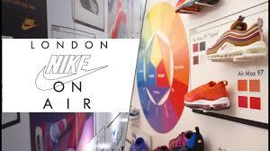 Nike Shoe Design Process Nike On Air London Interviews Design Process Workshop