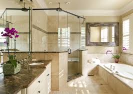 5 Design travertine bathroom for Luxurious house