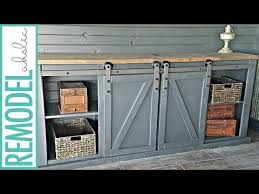 barn door media cabinet. how to build a sliding barn door for media cabinet