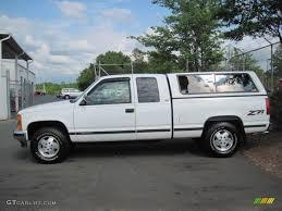 White 1994 Chevrolet C/K K1500 Z71 Extended Cab 4x4 Exterior Photo ...