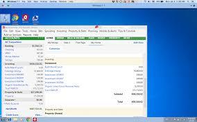 Windows Net Worth Quicken For Windows On Mac With Parallels Desktop