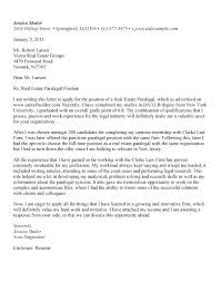 Real Cover Letter Examples Resume Bank