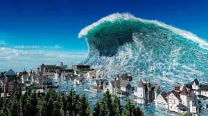 Tidal waves are waves created by the gravitational forces of the sun or moon, and cause changes in the level of water bodies. Tsunami Amazing Photoshopped Pictures Of Xxl Waves Youtube