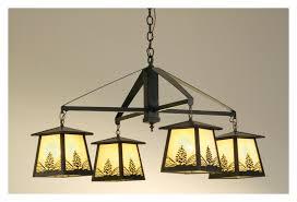 meyda tiffany 67277 stillwater mountain pine antique copper finish 55 nbsp tall exterior chandelier lamp loading zoom