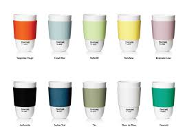 pantone universe cups and bowls by room copenhagen