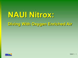 Naui Nitrox A Guide To Diving With Oxygen Enriched Air