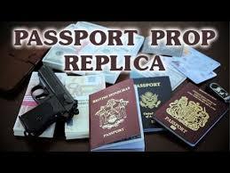 Magnoli Prop Props Youtube - Sequence flip Replica Passport By