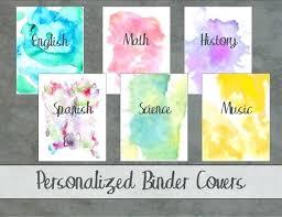 Binder Cover Designs For School Altpaper Co