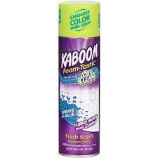 Kaboom 19 oz. Foam-Tastic Fresh Bathroom Cleaner with OxiClean ...