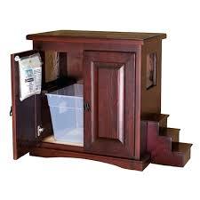 Decorative Cat Litter Box Cat Litter Cabinet Made Cat Litter Box Cabinet Medium Within 66