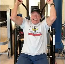 arnold schwarzenegger working out twice a day after heart surgery arnold schwarzenegger insram