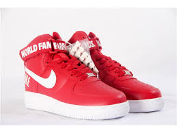 nike shoes air force 1 supreme. supreme x nike air force 1 high sp shoes red in stock for sale now s