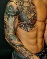 жутковатые анатомические татуировки Diddlybop