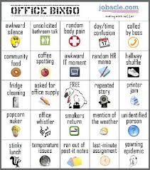 Office Bingo Friday Funnies Office Bingo Get Your Playing Card Here Work