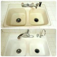 kitchen sink refinishing sink kitchen sink refinishing unique best bathtub images on cast iron sink kit