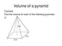 Ppt Pyramid Ppt Volume Of A Pyramid Powerpoint Presentation Id 6194174