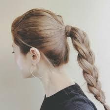 差がつくポニーテールの結び方その髪型の可愛さの秘密 Hair