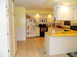 Yellow And White Kitchen Modern Yellow With Oak Kitchen Innovative Home Design