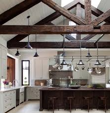rafters living lighting. Interior Living Spaces-Exposed Ceiling Trusses-18-1 Kindesign Rafters Lighting N