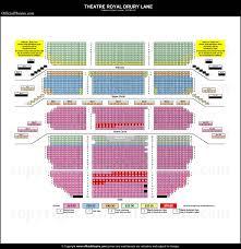 Theatre Royal Drury Lane Seating Chart Drury Lane Theatre Seating Review