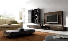 Small Picture Modern Tv Units Design In Living Room With Design Photo 54746