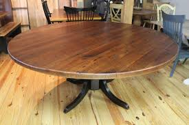rustic round table. Impressive Rustic Round Dining Table For 8 Kingdom Oak Farmhouse Tables Zin